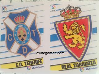 Liga Este 2013-14 Escudos Segunda División