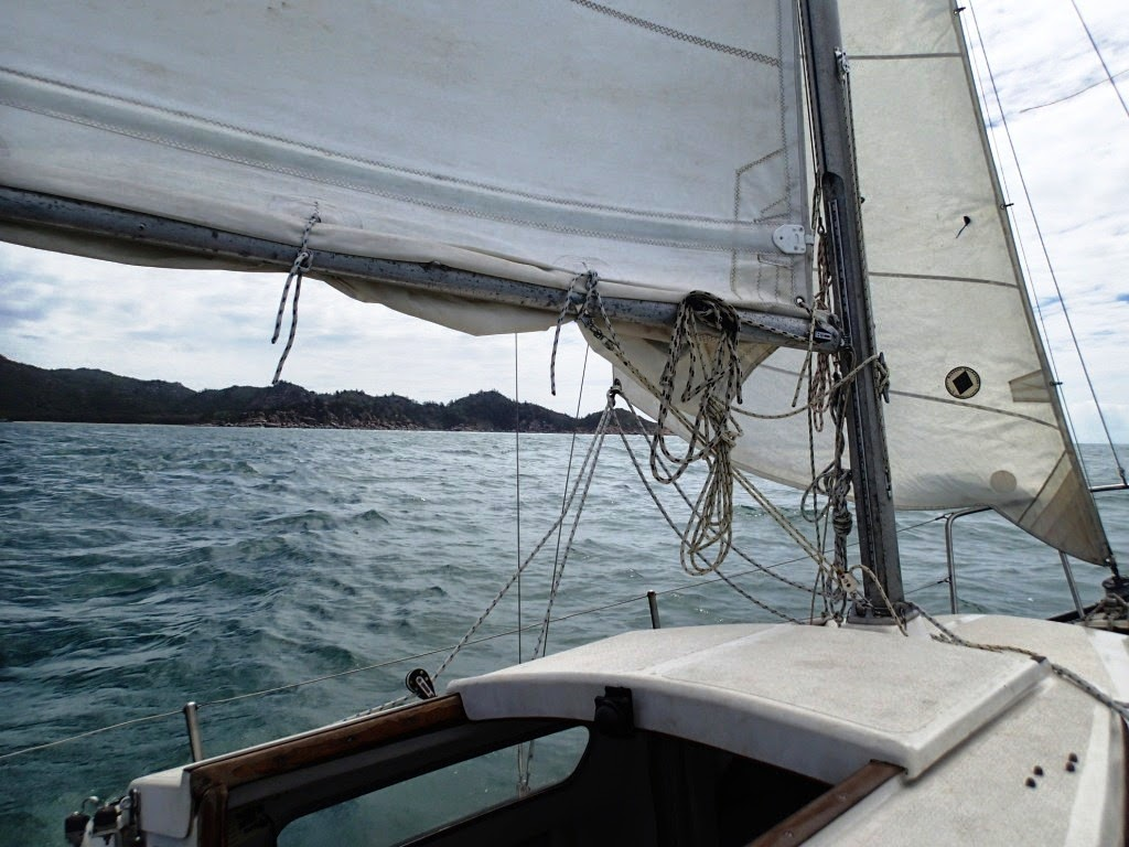 Reefed The Mainsail For The First Time