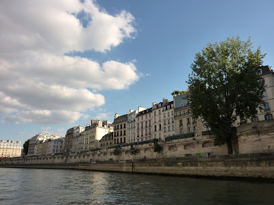 The Seine River, Paris, France www.thebrighterwriter.blogspot.com