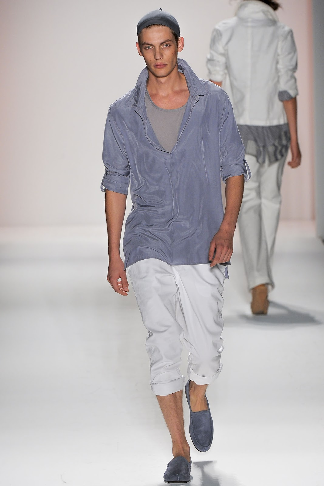 Baptiste Radufe New York Fashion Week Spring/summer 2013