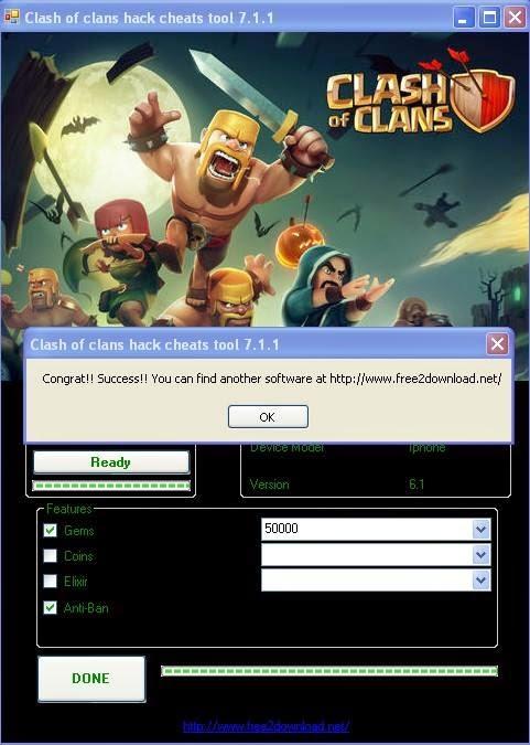 clash of clans mod apk free download ihackedit