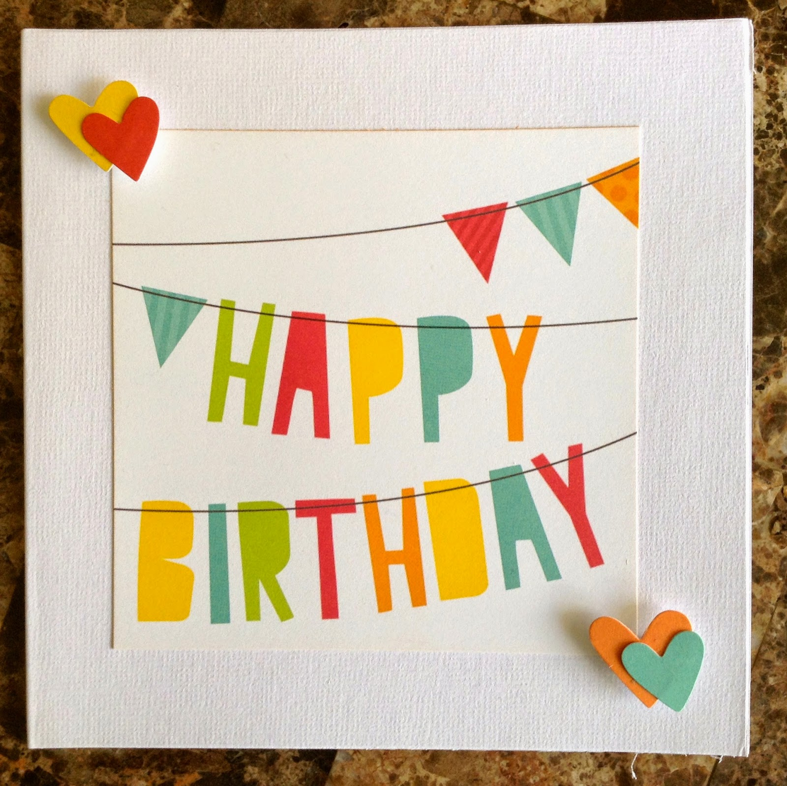 the emi times simple stories snp birthday card, Birthday card
