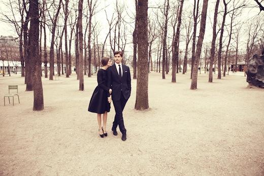 Olivia Palermo y Johannes Huebl paseando