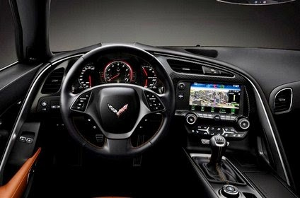 2016 Corvette Stingray Z07 interior