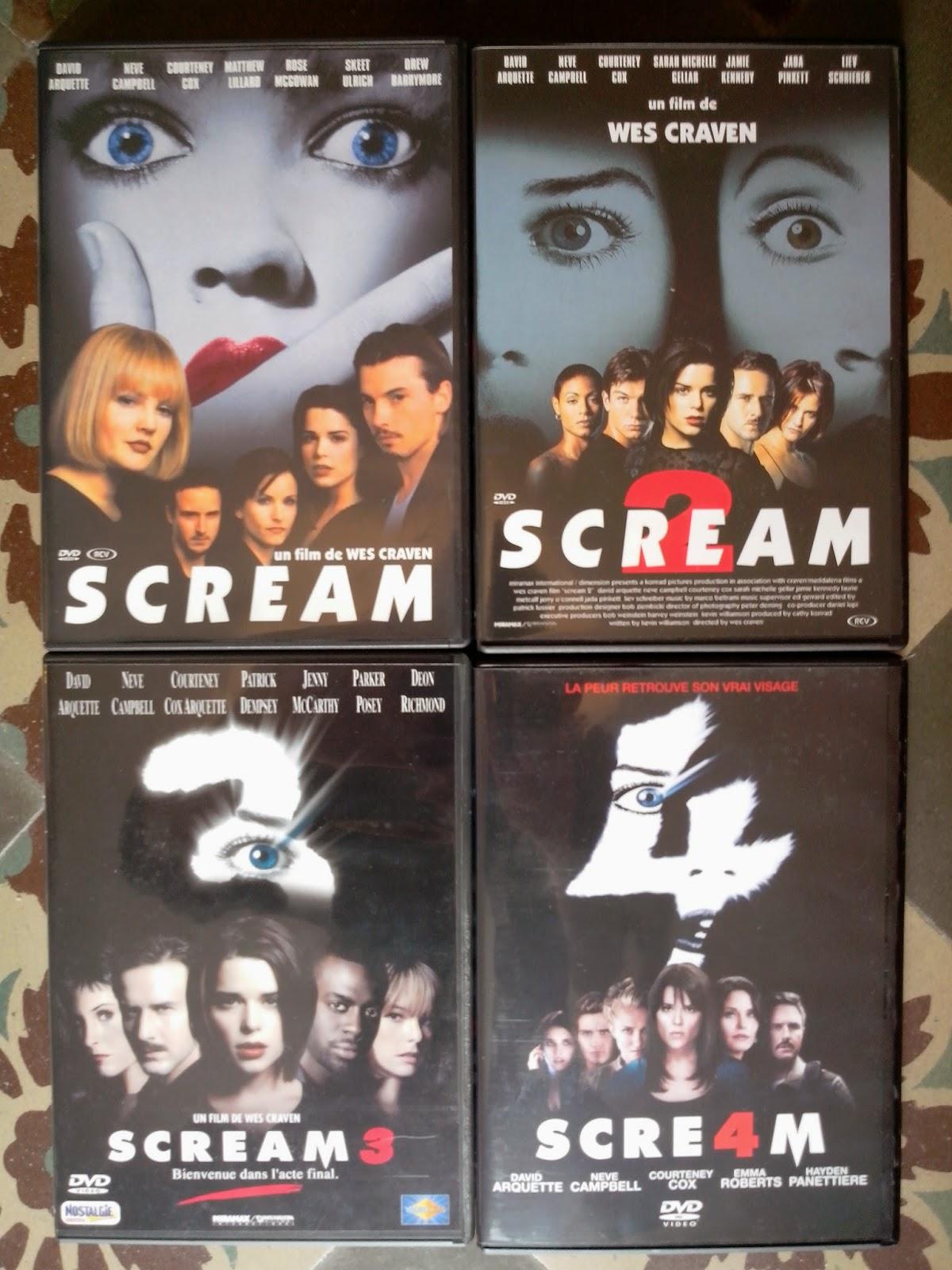 Divers DVD a vendre Scream