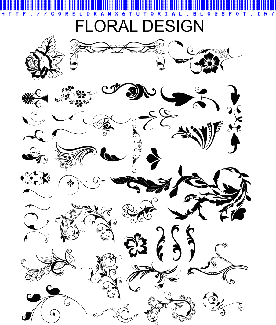 Corel draw border designs download Drawing images free download