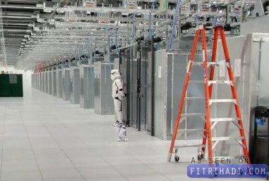 Storm Troopers Google Data Center Street View