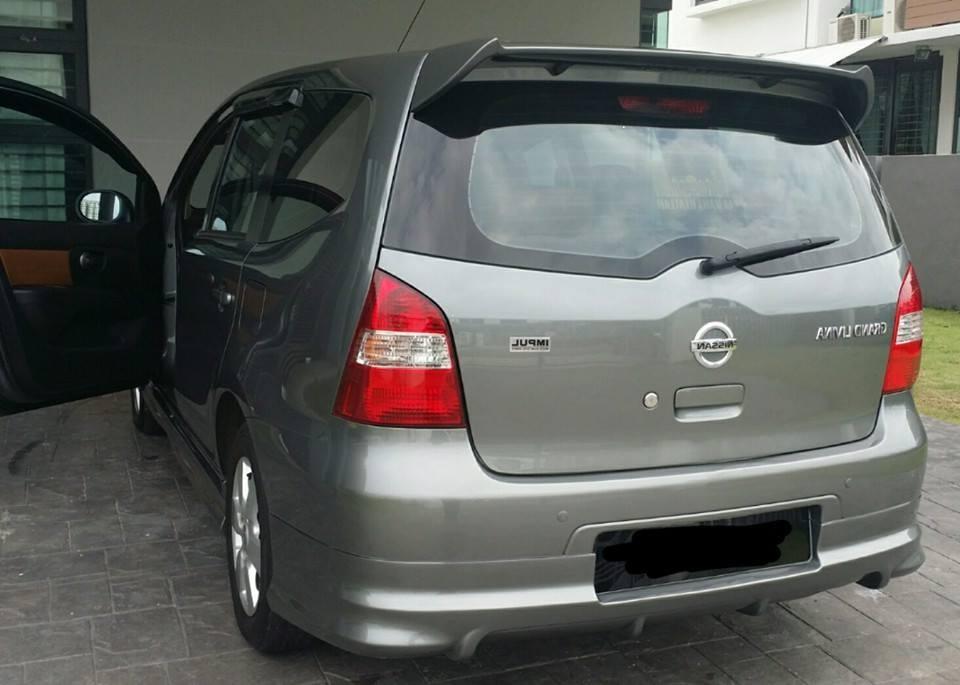 back MPV sewa