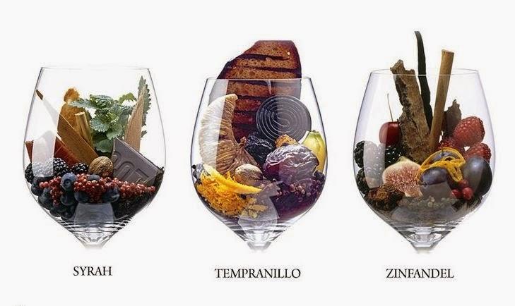 Набор чистых винных ароматов в деревянной коробке, фото 21897964