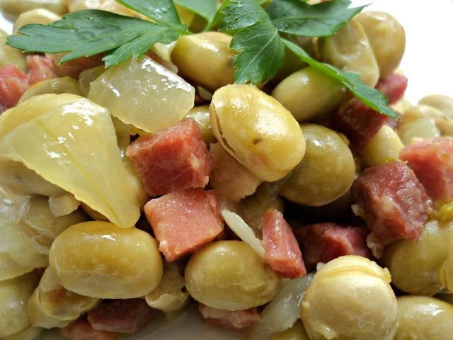 Recetas de almeria turistica eva nubeda guiso de habas - Habas frescas con jamon ...