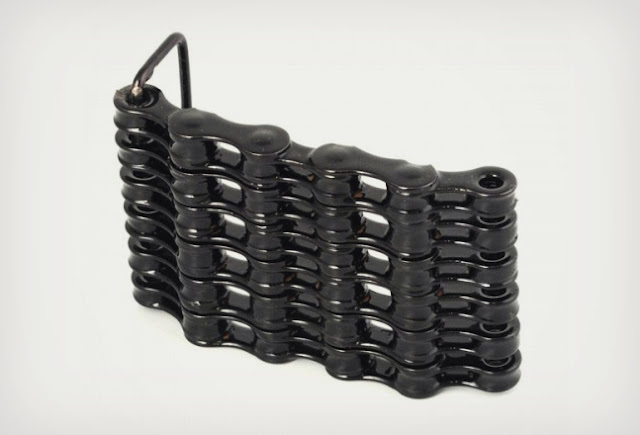 BIKE CHAIN BELT BUCKLES The latest we stumbled across are these Bike Chain Belt Buckles available from Bike Craft.