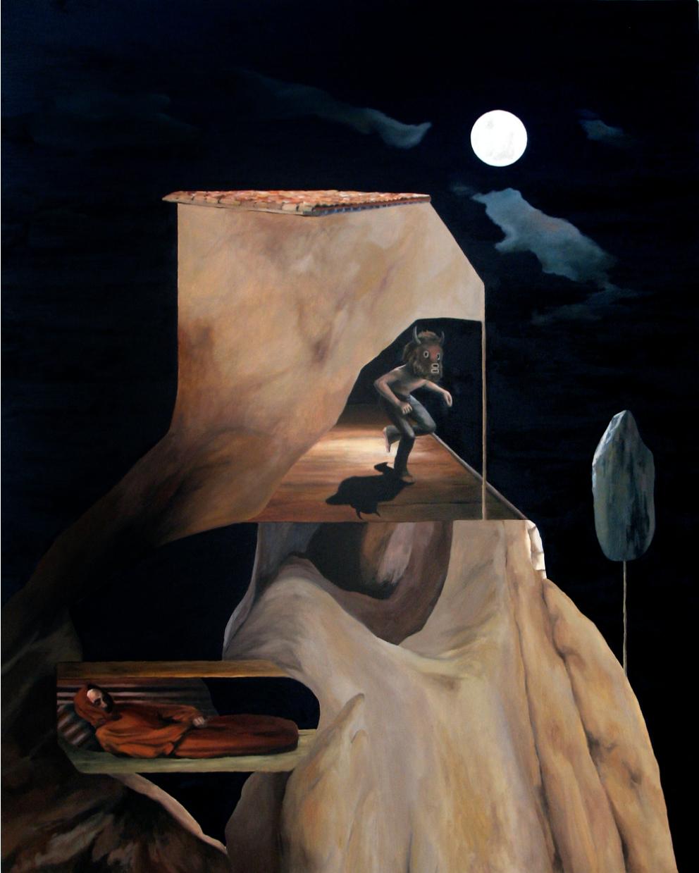 Painting by Gwyn Joy