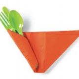 Como decorar talheres para mesa de páscoa