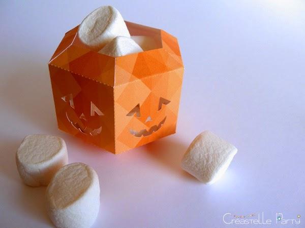 DIY lanterne halloween avec bonbons