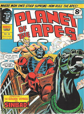 Marvel UK, Planet of the Apes #38