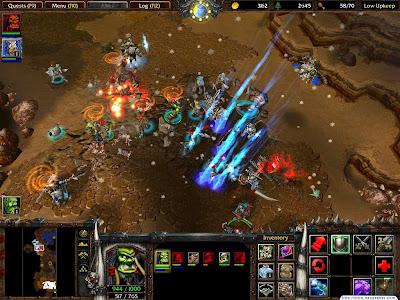 لعبة الاستراتيجية العملاقة WarCraft III Reign of Chaos نسخة كاملة حصريا تحميل مباشر WarCraft+III+Reign+of+Chaos+1