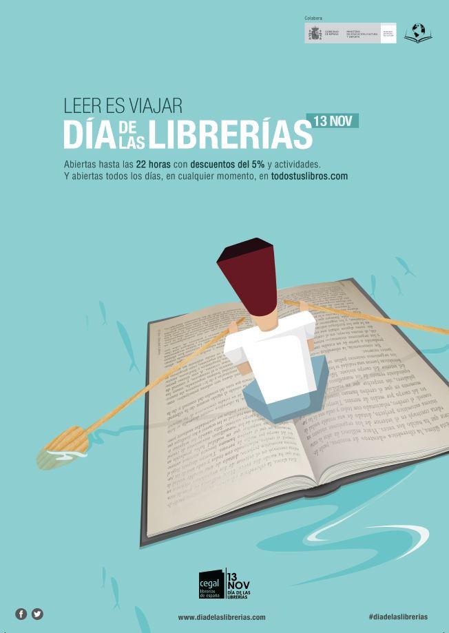 13N, Día de las Librerías 2015