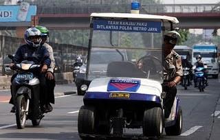 Mobil Khusus Anti Ranjau Paku Milik Indonesia