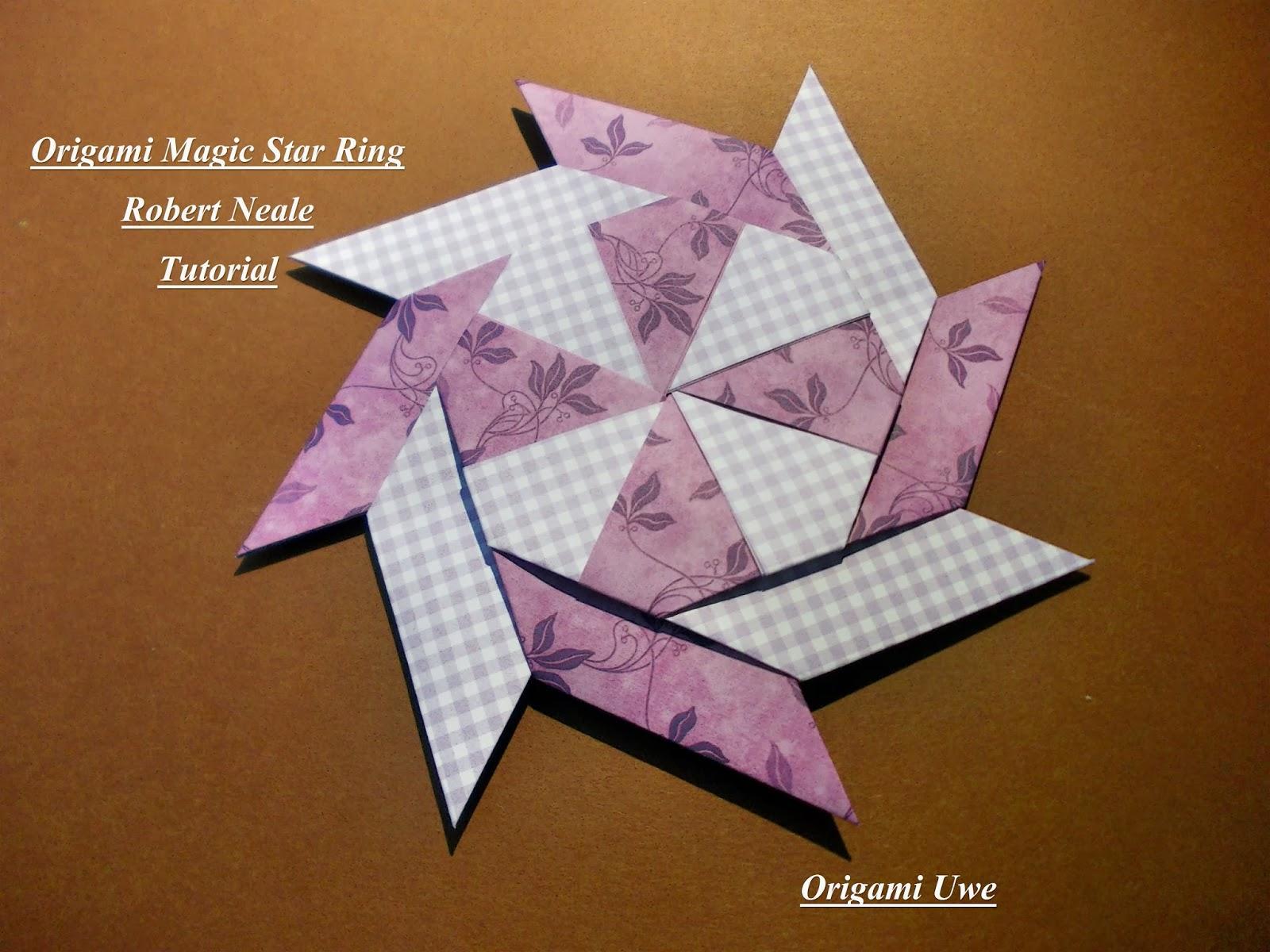 Origami Magic Circle YouTube