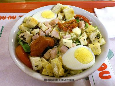 Au-Au Lanches: Salada de Peito de Peru