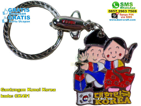 Gantungan Kunci Korea