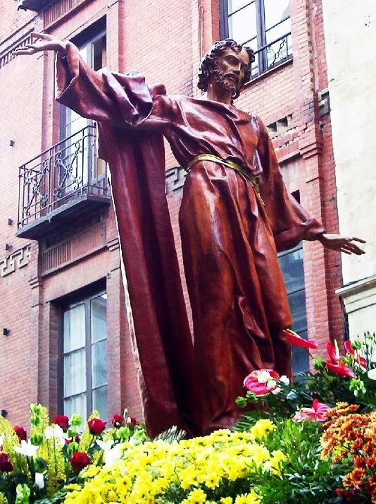 Cristo del Gran Poder. Cofradía del Cristo del Gran Poder. León. Foto G. Márquez.