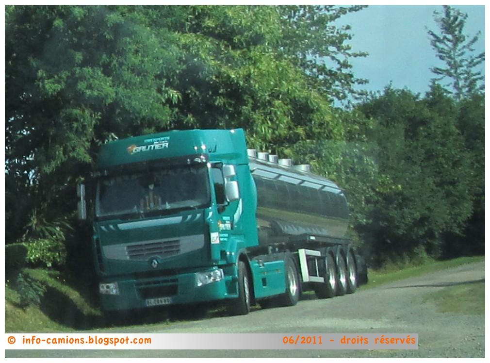 info camions renault premium transports gautier 35 st. Black Bedroom Furniture Sets. Home Design Ideas