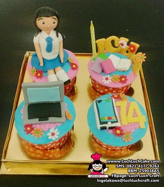 Cupcake Ulang Tahun Untuk Anak Remaja