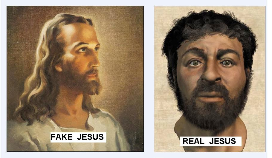 Fake and Real-Jesus