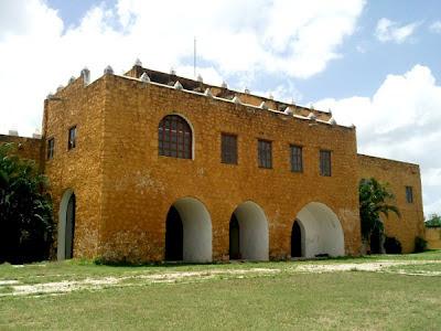 Ex Convento Conkal Yucatan Mexico
