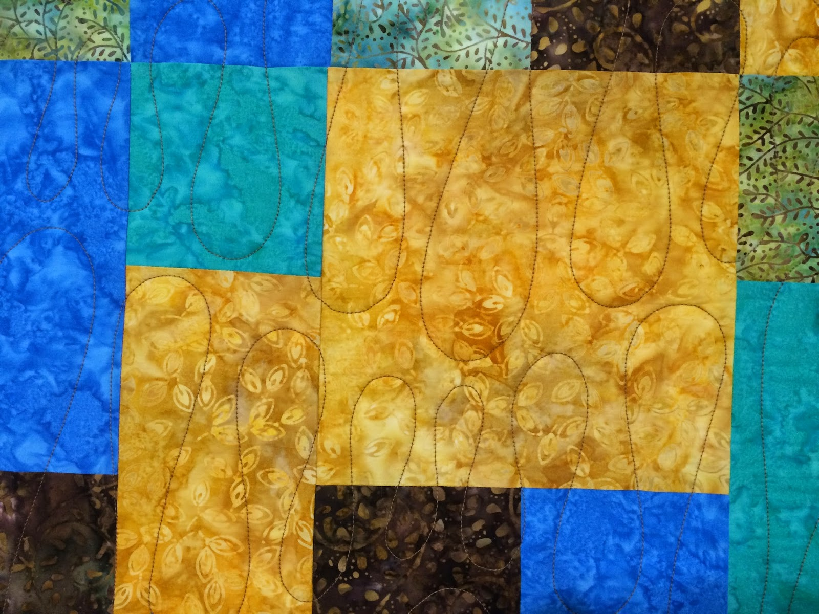 Lisa Boyette's Take 5 Quilt