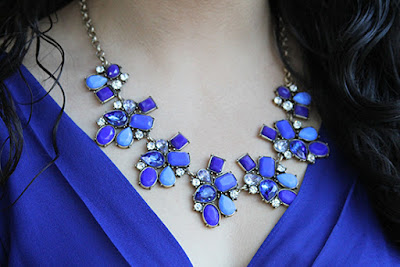 Blue Perry Street Jane Necklace Rocksbox