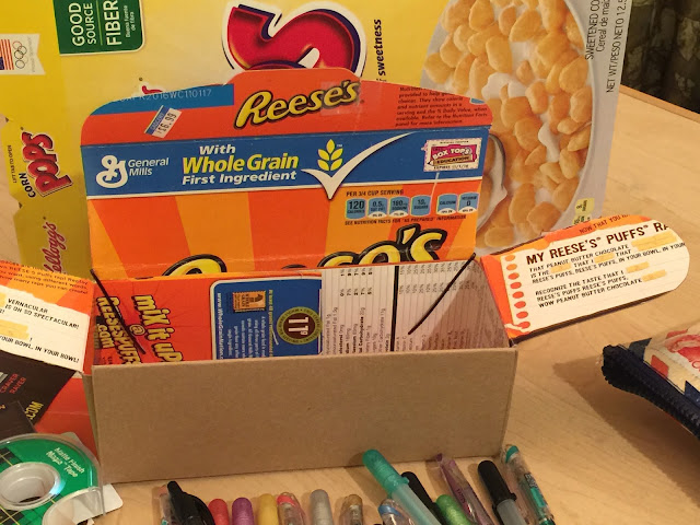 Gift Boxes Made From Cereal Boxes