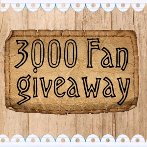 3000 fan giveaway