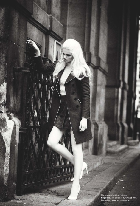 Daphne Groeneveld by Ellen von Unwerth for Numero