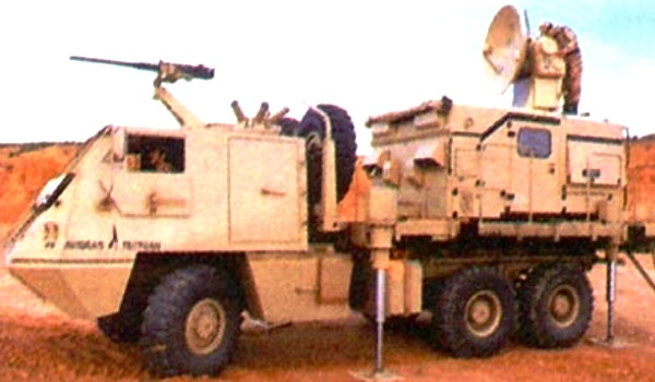 ASTROS-II, Kendaraan Radar dan Sistem Kontrol Tembakan / Peluncuran