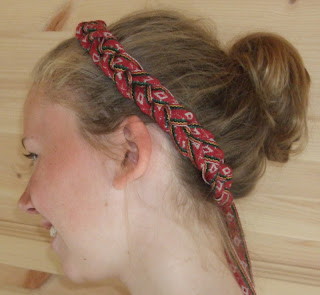 flettet hårbånd klompelompe