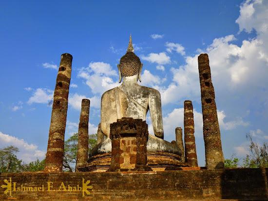 Buddha in Sukhothai Historical Park