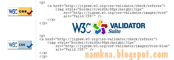 Chỉnh sửa CSS theo chuẩn HTML5 (W3C)