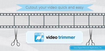 Sony Video Trimmer is video editing tool app for Android