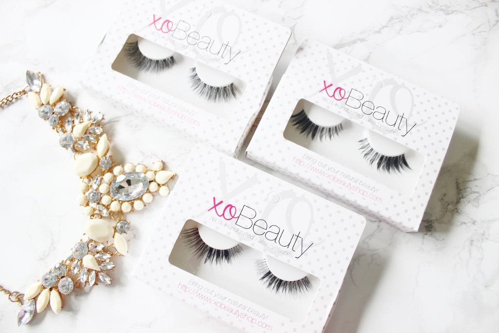 XO Beauty Eyelashes Haul UK