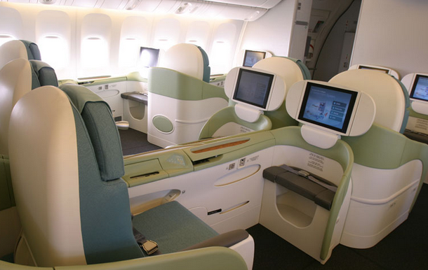 Airplanes Review Korean Air 777 First Class