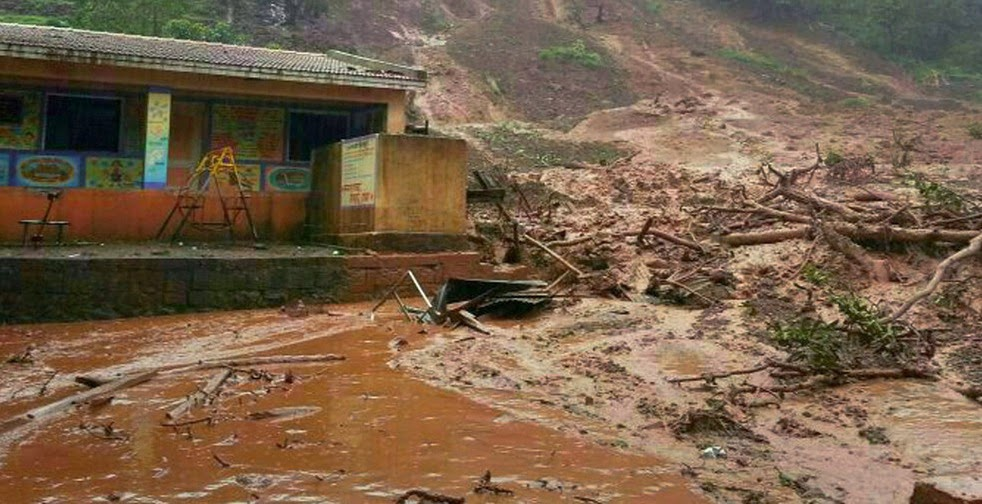 India Mudslide; 17 killed, 150 missing