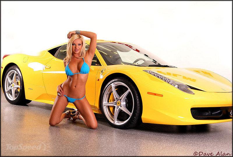голые девушки и спорткары фото