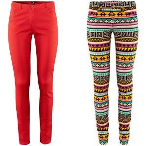 pantalones mujer H&M otoño invierno 2012 2013
