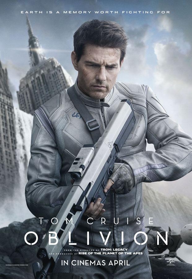ตัวอย่างหนังใหม่ : Oblivion  (อุบัติการณ์โลกลืม) ตัวอย่างที่ 2 ซับไทย poster