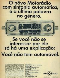 Quando o rádio era um canhão