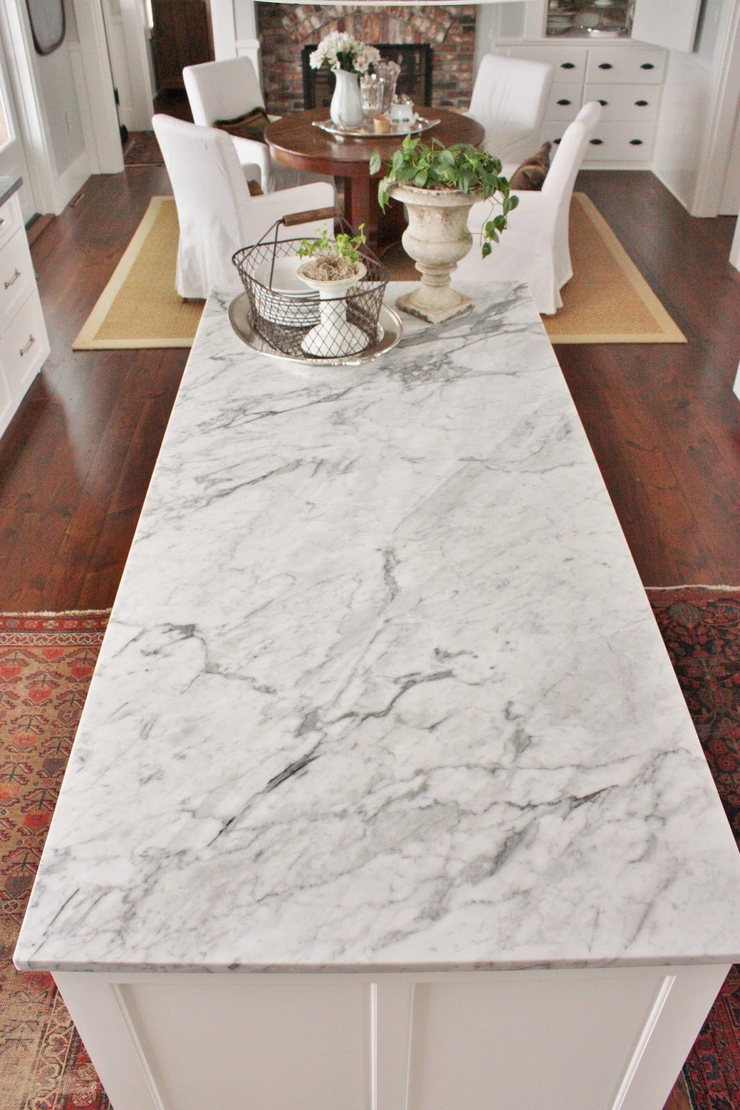 Carrara Marble Countertops : For the love of a house marble