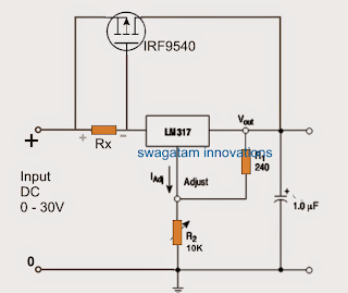 Lm317 constant current led driver.
