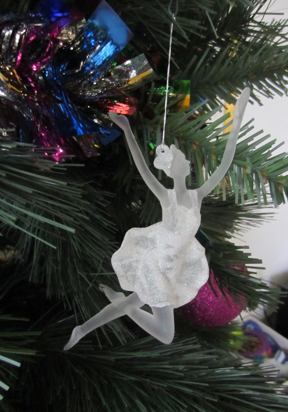Christmas Tree Ballarina Ornament